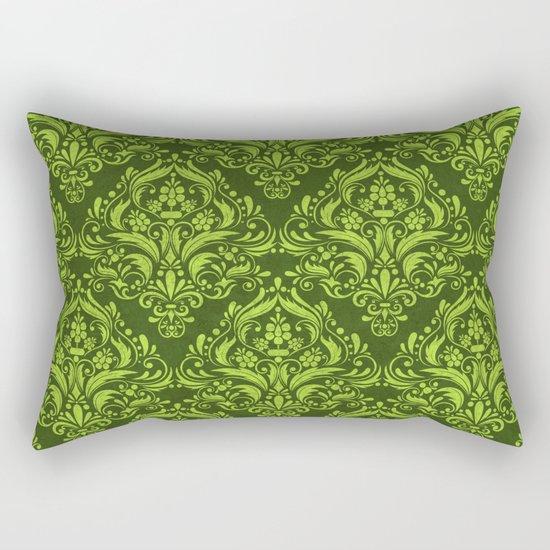 Halloween damask colors #3 Rectangular Pillow