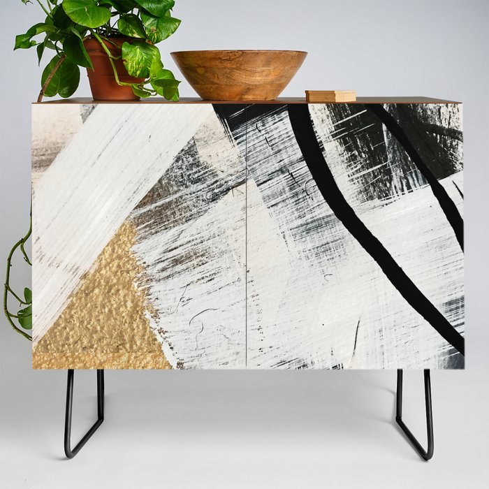 Armor_9_a_minimal_abstract_piece_in_black_white_and_gold_by_Alyssa_Hamilton_Art_Credenza_by_Alyssa_Hamilton_Art__Black__Walnut