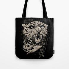 Jaguar Sun Tote Bag