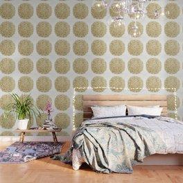Golden Burst Wallpaper