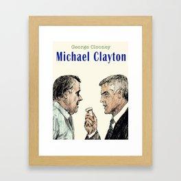 Michael Clayton Framed Art Print