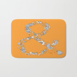 Ampersand, the Happiest Letter on Earth Bath Mat