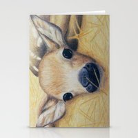 bambi Stationery Cards featuring Bambi by Erin Schamberger