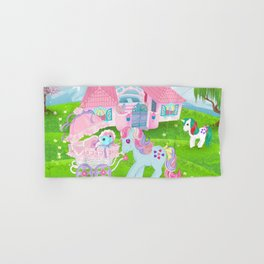 g1 my little pony stylized Sweet Stuff and baby Hand & Bath Towel