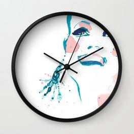 Pretty Fun Thing - Fashion Illustration Wall Clock