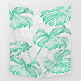 city leaf Wall Tapestry