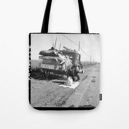 Tracy, California 1937 Tote Bag