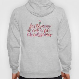 Christmas Season —Candy Canes Hoody