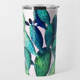 Cactus Three Ways #society6 #decor #buyart Travel Mug