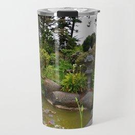 Japanese Garden Lantern Travel Mug