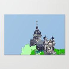 Basilica of St. Mary - Minneapolis, Minnesota Canvas Print