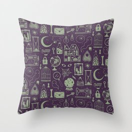 Haunted Attic: Phantom Throw Pillow