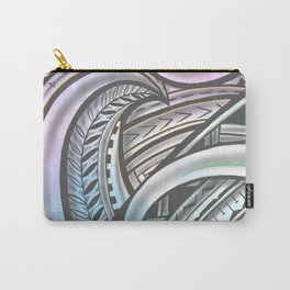 Pastel Polynesian Carry-All Pouch