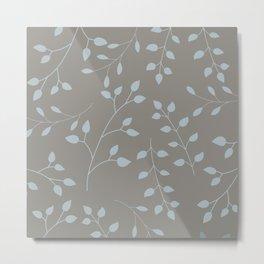 Neutral pattern Metal Print
