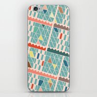 miami iPhone & iPod Skins featuring Miami by Lisa Romero