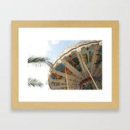 Paris Carrousel  Framed Art Print