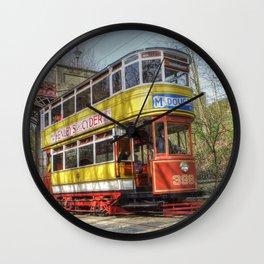 Leeds Tram 399 Wall Clock