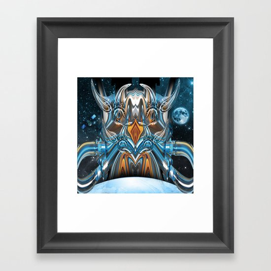 ion rising Framed Art Print