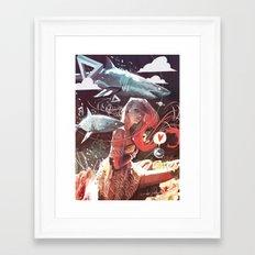 SPUTNIK LOVER Framed Art Print
