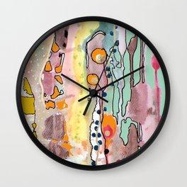 fille de joie Wall Clock
