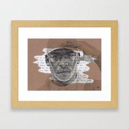 Skepta Framed Art Print