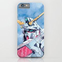 Unicorn Gundam Red Psycho-frame iPhone Case