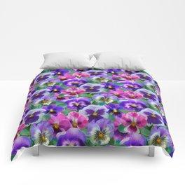 Bouquet of violets I Comforters