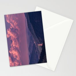 Purple Mountains Stationery Cards