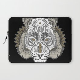 Zentangle Tiger 02  Laptop Sleeve