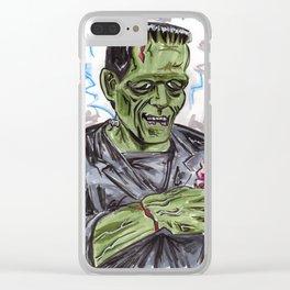 We All Scream! Clear iPhone Case