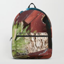 Blue Swallow Photography Print Backpack