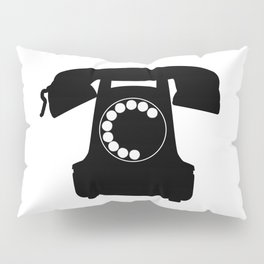 Traditional Telephone Icon Pillow Sham