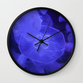 Moon Jelly Fish Wall Clock