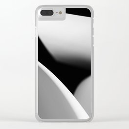Paper Work Clear iPhone Case
