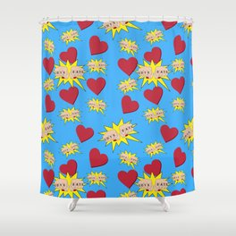 Love Hate Shower Curtain