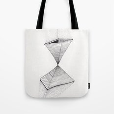 sand pyramids Tote Bag