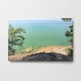 Lake Superior Michigan Metal Print
