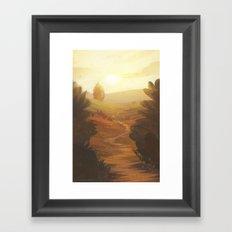 Path Ahead Framed Art Print