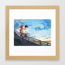 whisper of the heart - fan art Framed Art Print