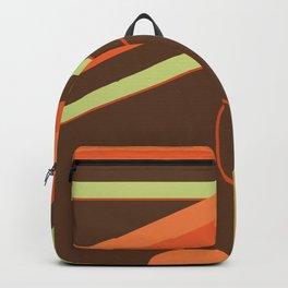 Retro 70s Mach I Beach Towel Backpack