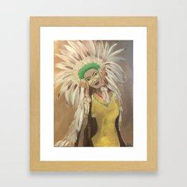 Agisi Framed Art Print