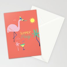 Corail Flamingo Stationery Cards