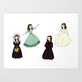 Cosettes Art Print
