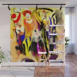 Clowns Wall Mural