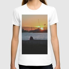 Daybreak on the river T-shirt