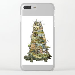THE TORTOISE Clear iPhone Case
