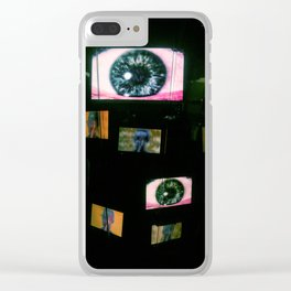 They're Watching You Clear iPhone Case