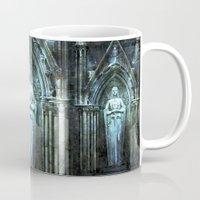 bible verses Mugs featuring The Dying Verses 2 by Helheimen Design