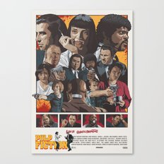 Quentin Tarantino's Pulp Fiction Canvas Print