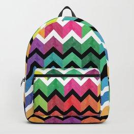 Watercolor Chevron Pattern VI Backpack